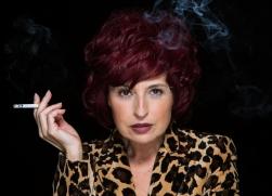 Marisol Galdón Leopardo fumando