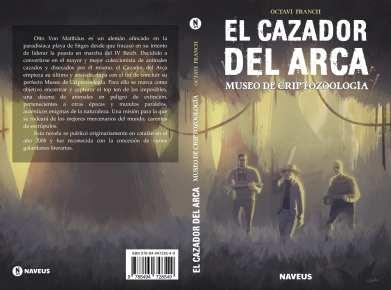 EL CAZADOR DEL ARCA cubierta